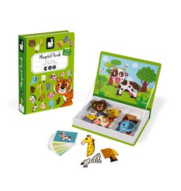 Janod Toys Animals Magneti'book