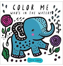 Books Color Me: Who's in the Water? Bath Book