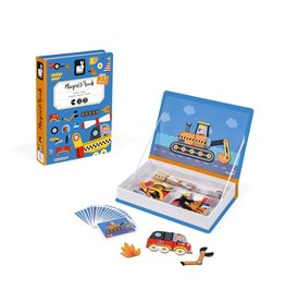Janod Toys Janod Racers Magneti'book