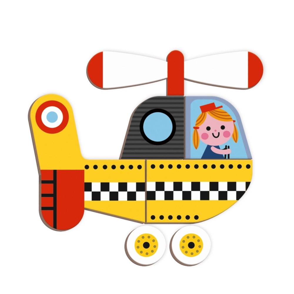 Janod Toys Racers Magneti'book
