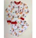 Nola Tawk Christmas Cafe du Monde Organic Pajama Set