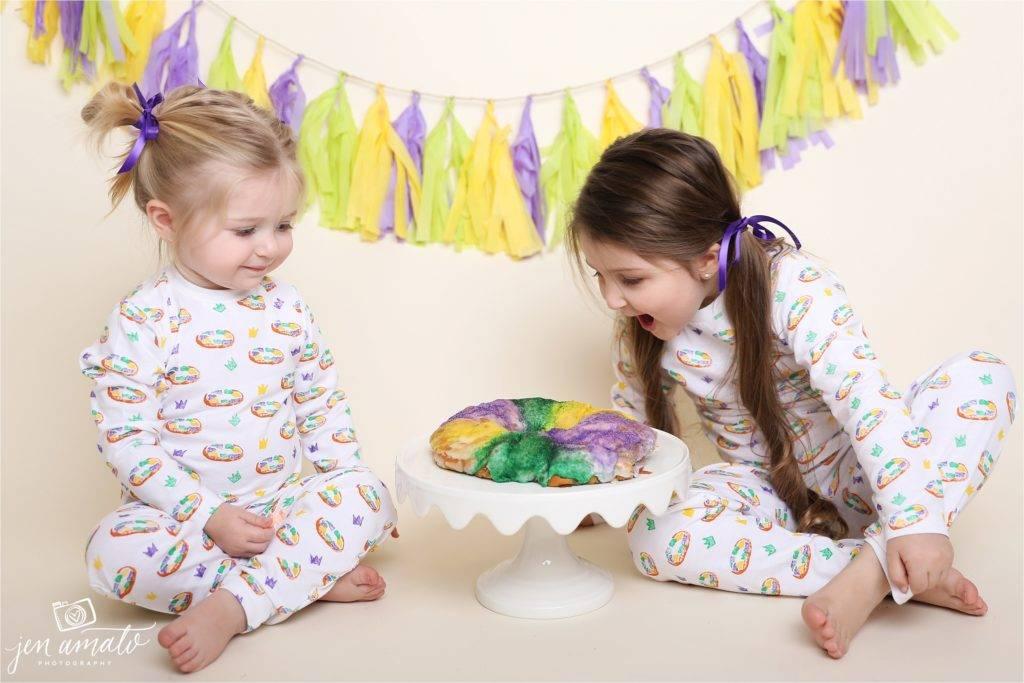 Nola Tawk King Cake Organic Cotton Pajama Set