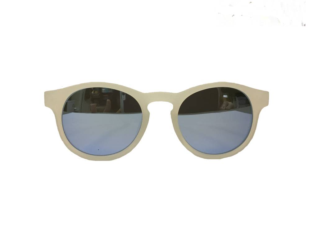 Babiators Babiators  Polarized - Jet Setter Transparent with Light Blue Lens