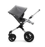 Bugaboo Bugaboo Fox Complete Stroller Set - Aluminum/Grey Melange