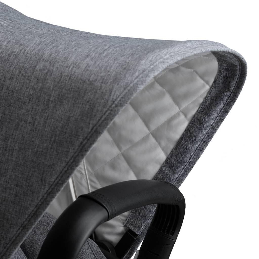 Bugaboo Bugaboo Fox Complete Stroller Set+Accessories - Aluminum/Grey Melange (new floor model)
