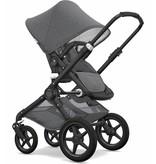 Bugaboo Bugaboo Fox Complete Stroller Set - Black/Grey Melange