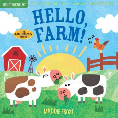 Indestructibles Baby Books Indestructibles: Hello, Farm!