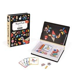Janod Toys Modularform Magneti'book