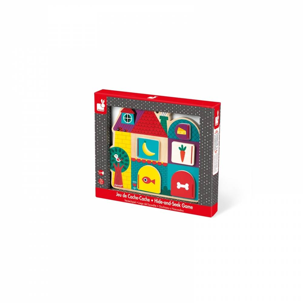 Janod Toys Janod Hide & Seek Puzzle Game