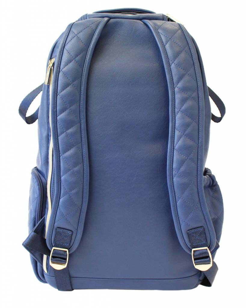 Itzy Ritzy Itzy Ritzy Diaper Bag Backpack- Navy Gingham