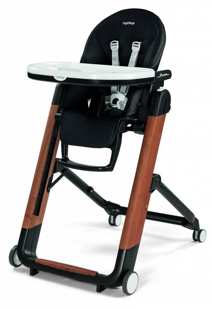 Peg Perego Siesta High Chair - Agio Black - ZukaBaby 304d25fd7827