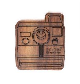 Finn + Emma Finn + Emma Wood Rattle Teether Polaroid Camera