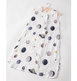 little unicorn Little Unicorn Cotton Muslin Sleep Bag- Planetary Print