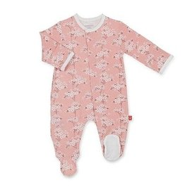 Magnetic Me Magnetic Me Modal Footie- Cherry Blossom