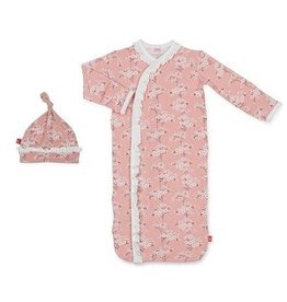 Magnetic Me Magnetic Me Modal Gown & Hat Set - Cherry Blossom NB-3m
