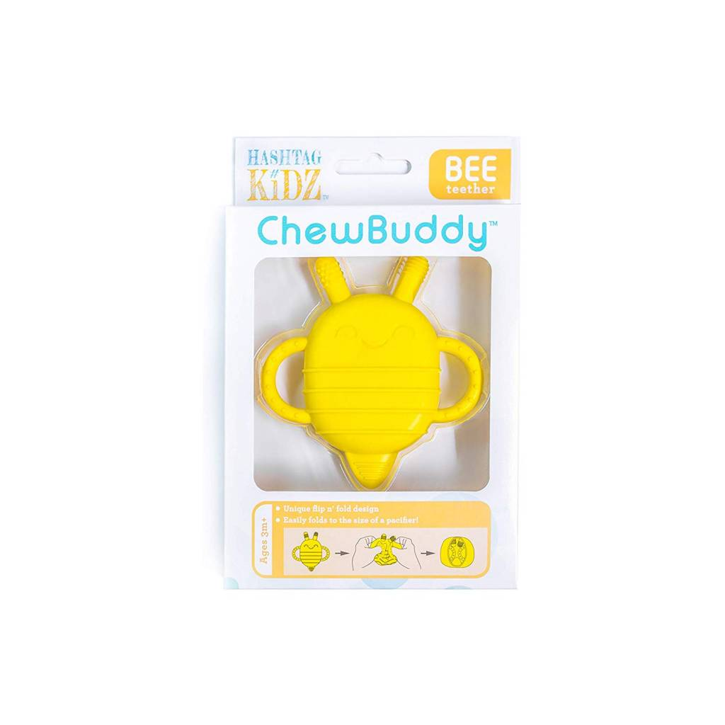 Hashtag Kidz ChewBuddy 2-in-1 Teether/Snack Container