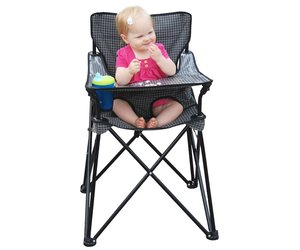 Remarkable Ciao Baby Ciao Baby Portable Highchair In Black Check Gmtry Best Dining Table And Chair Ideas Images Gmtryco