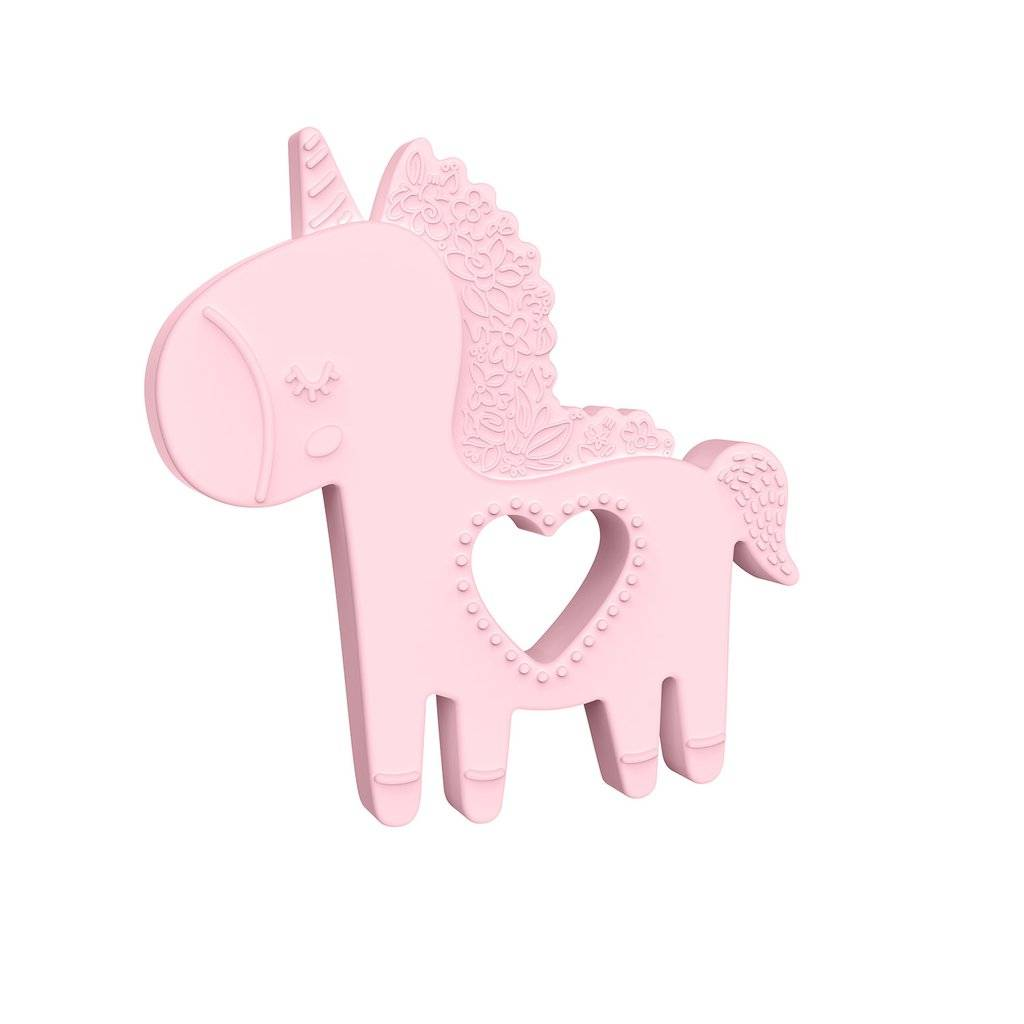 Manhattan Toys Petals Unicorn Silicone Teether