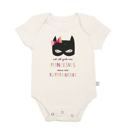 Finn + Emma finn + emma Graphic Bodysuit - Superhero Princess