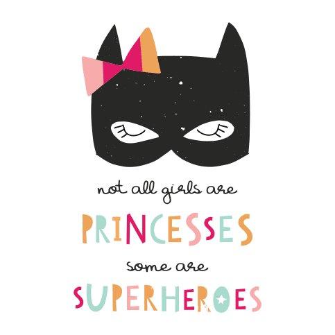 Finn + Emma finn + emma Graphic Bodysuit - Superhero Princess