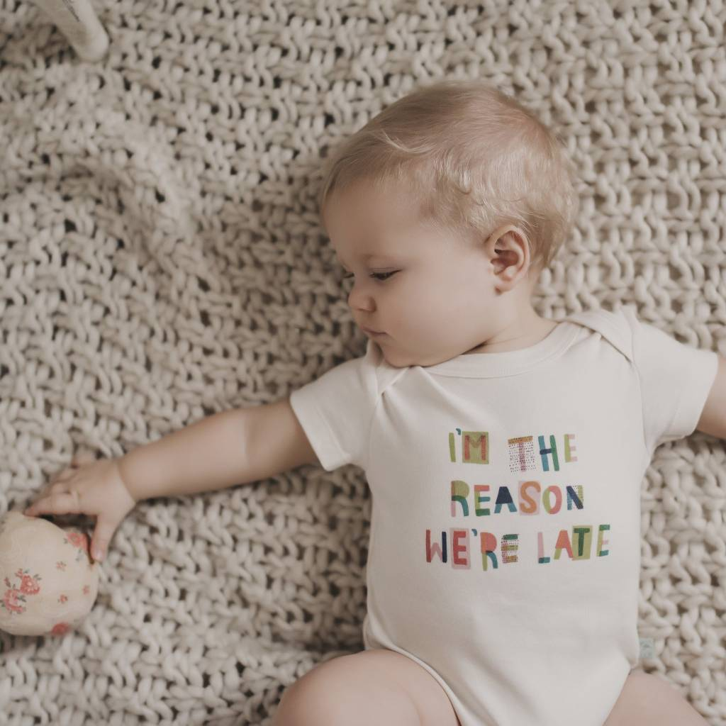 Finn + Emma finn + emma Graphic Bodysuit - We Are Late