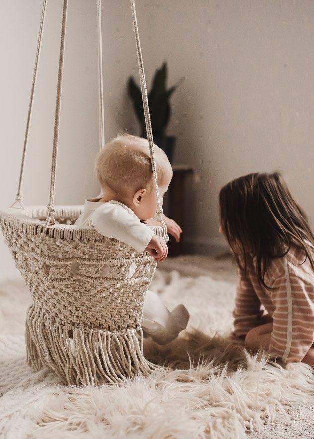 Finn + Emma finn + emma Macrame Swing