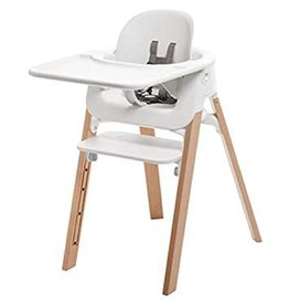 Stokke Stokke Steps High Chair Bundle - White