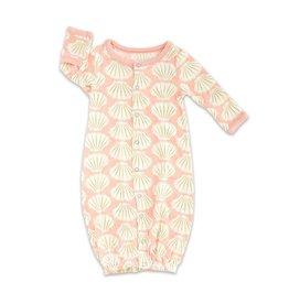 silkberry baby silkberry baby Bamboo Converter Gown - Seashell