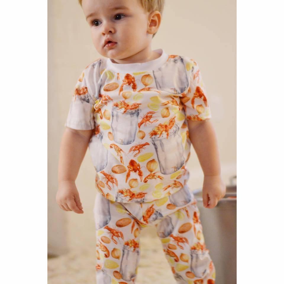Velvet Fawn Velvet Fawn Bayou Baby 2 Piece Pajamas