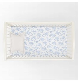 Maison Nola Storyland Toile Fitted Crib Sheet