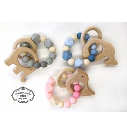 Maison Nola Maison Nola Animal Silicone Bead Teether