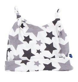 KicKee Pants KicKee Pants Essentials Print Double Knot Hat - Feathers/Rain Stars
