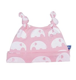 KicKee Pants KicKee Pants Essentials Print Double Knot Hat - Lotus Elephant