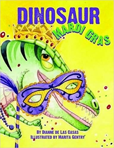 Books Dinosaur Mardi Gras