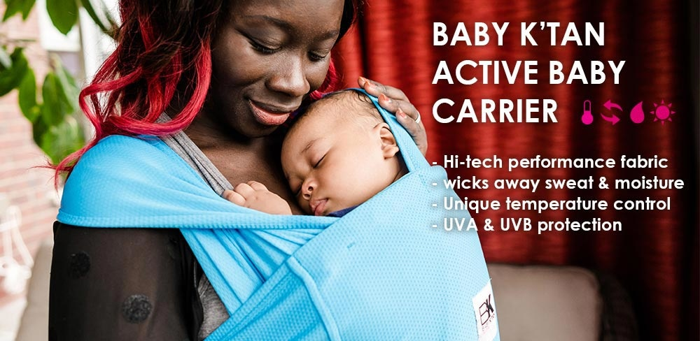 Baby K'Tan Baby K'Tan Baby Carrier: ACTIVE