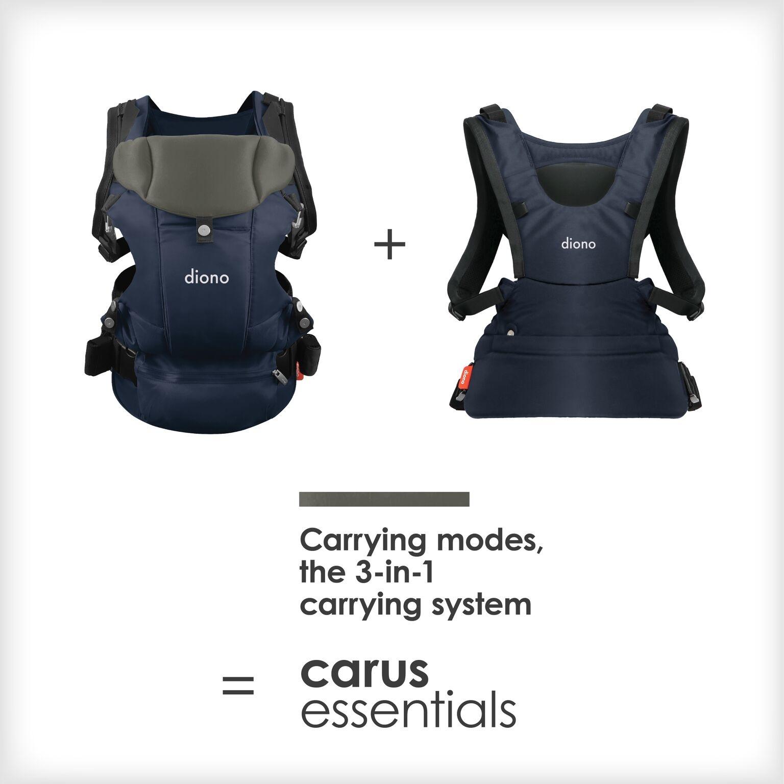 Diono Carus Essentials 3-in-1 Carrier