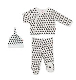 Magnetic Me Magnetic Me Organic Cotton Magnetic Kimono 3 Piece Set - Quack N Roll