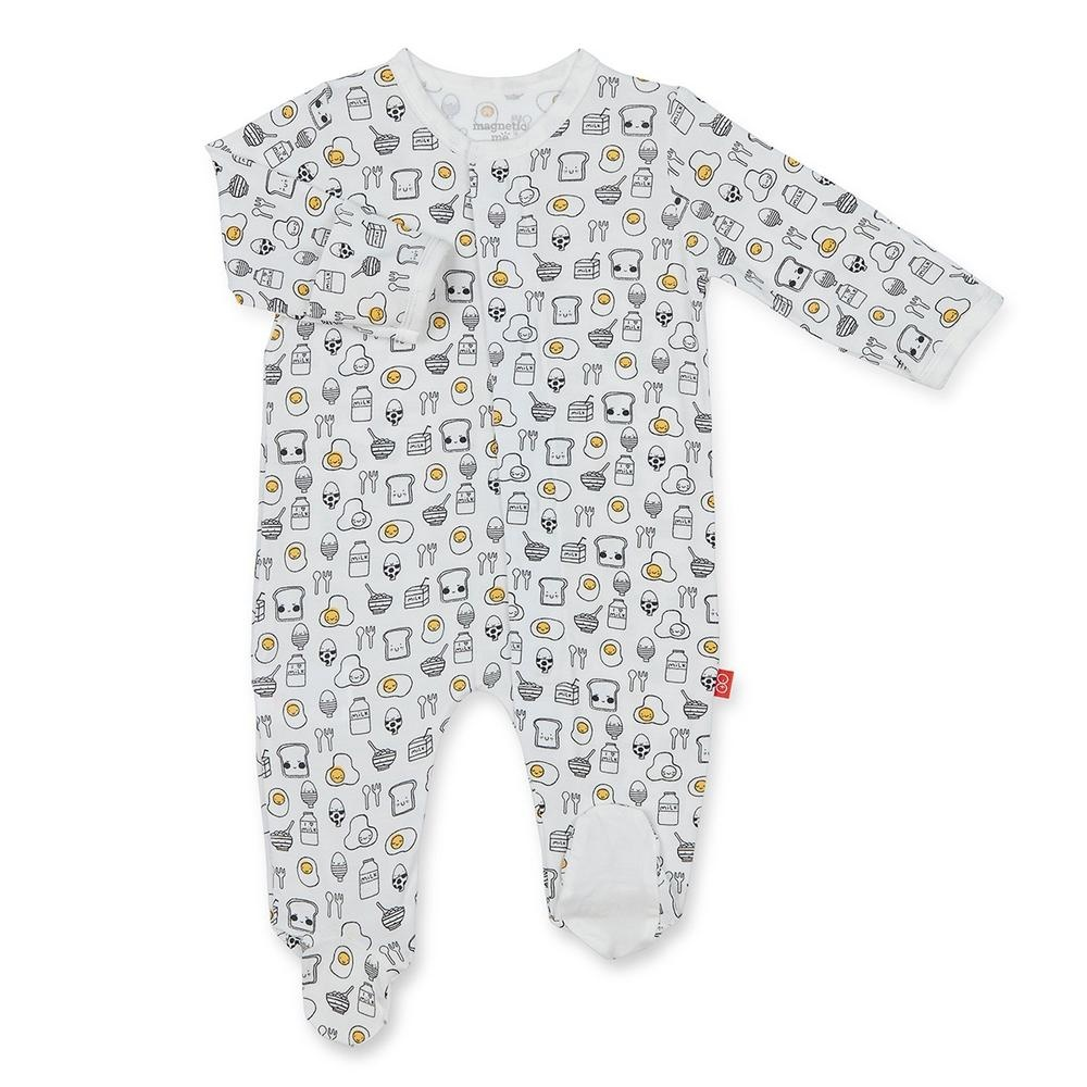 bf04262e39d9 Magnetic Me Modal Footie - Breakfast Club - ZukaBaby