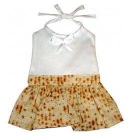 Davida Aprons & Logo Programs Inc. Matzah Corporate Baby Bib - Girl
