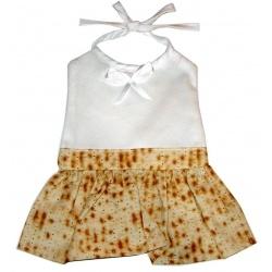 Davida Aprons & Logo Programs Inc. Matzah Baby Bib - Girl