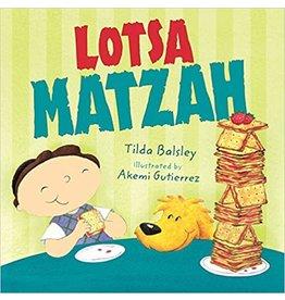 Books Lotsa Matzah (Board Book)
