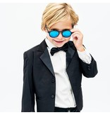 Babiators Babiators Polarized - The Agent (Black +Dark  Blue Lens)