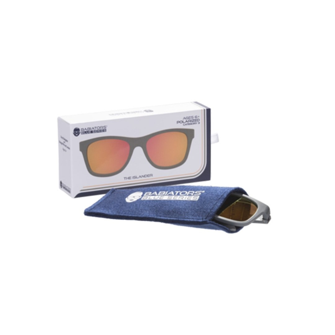 Babiators Babiators Polarized - The Islander (Gray+Orange Lens)