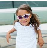 Babiators Babiators Polarized - The Trendsetter (Transparent + Purple Lens)