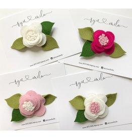 Ryu + Mila Ryu + Mila Handmade Flower Clips