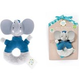 Meiya & Alvin Alvin the Elephant Rattle Toy