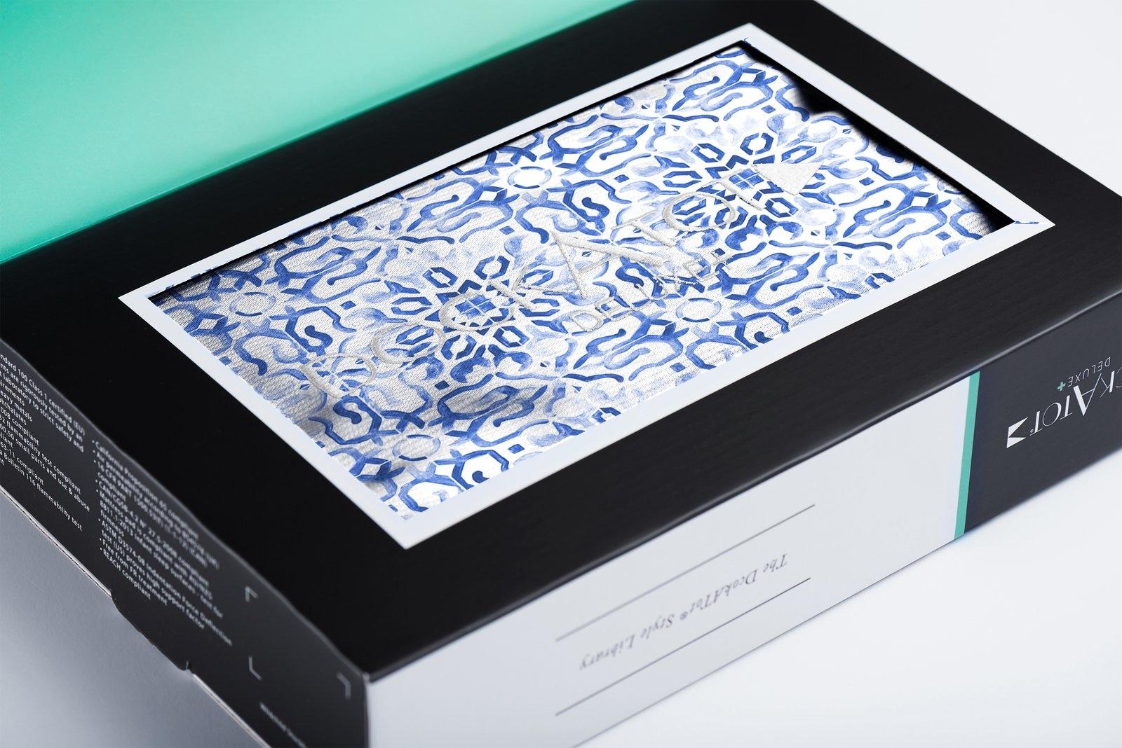 DockATot Deluxe+ Cover - Mediterranean Prints