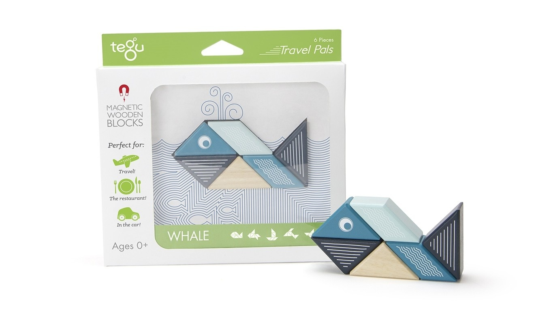 Tegu Tegu Whale Travel Pal