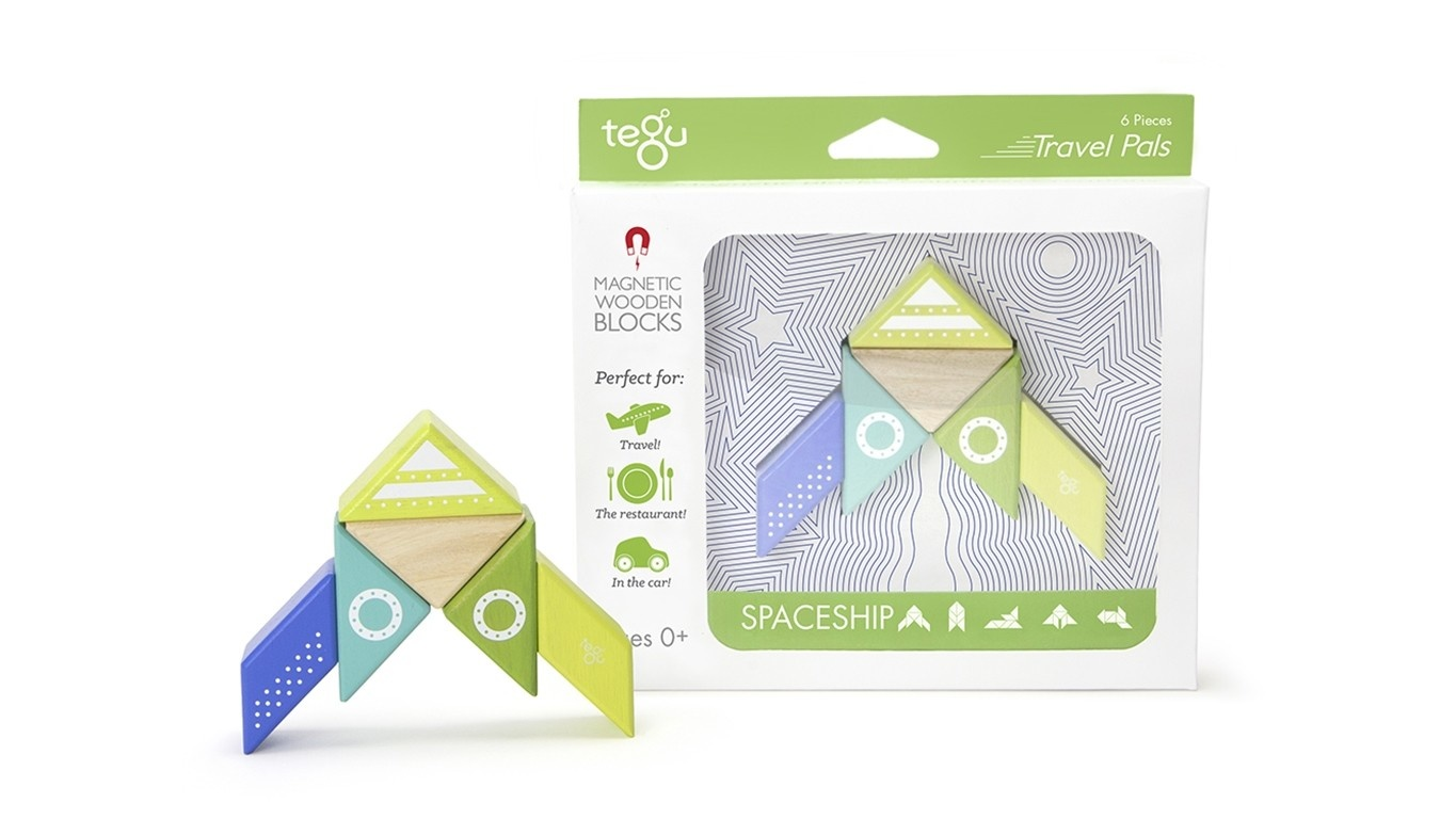 Tegu Tegu Spaceship Travel Pal