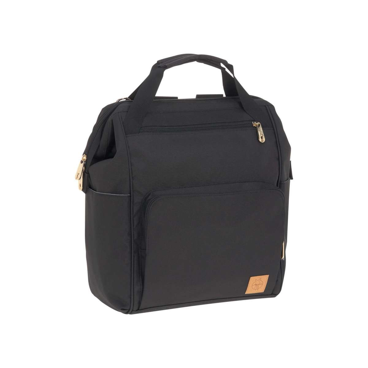 LASSIG LASSIG Glam Goldie Backpack Diaper Bag - Black